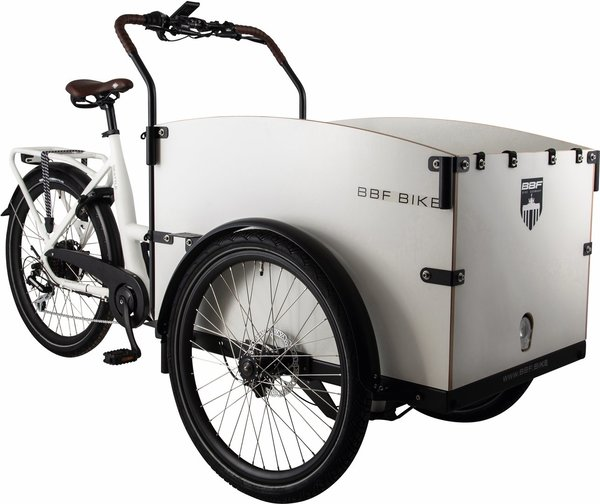 BBF Seattle Eco Cargobike urban white