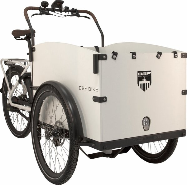 BBF Seattle Premium Cargobike urban white