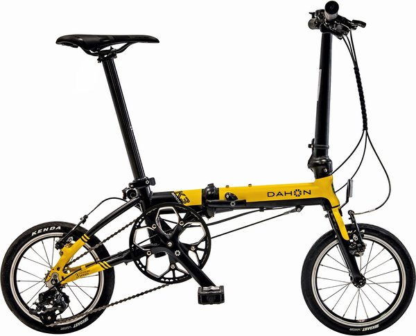 "DAHON K3 14"" yellow"