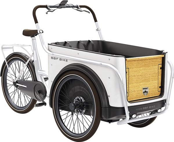 BBF Seattle Royal Cargobike urban white