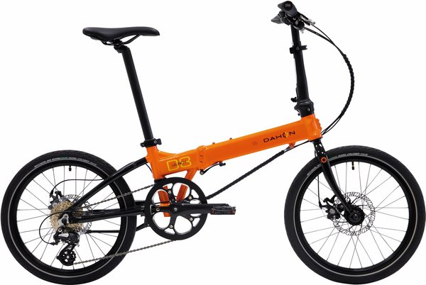 "DAHON Launch D8s 20"" speed orange"