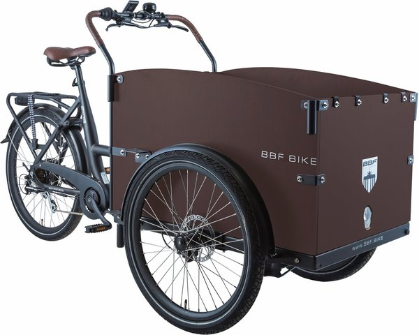 BBF Seattle Eco Cargobike classic black